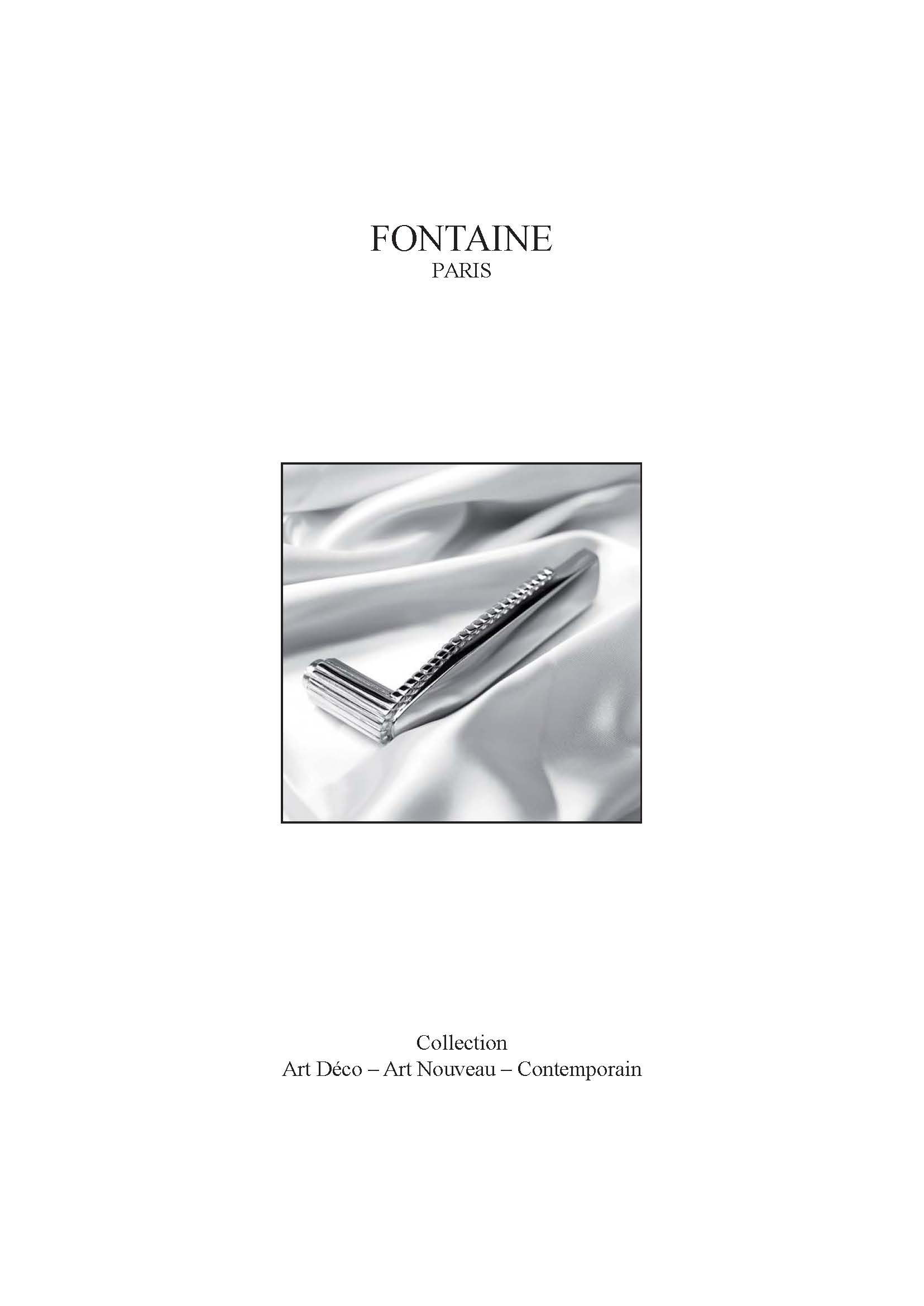 Cote France Catalog_FONTAINE Cover