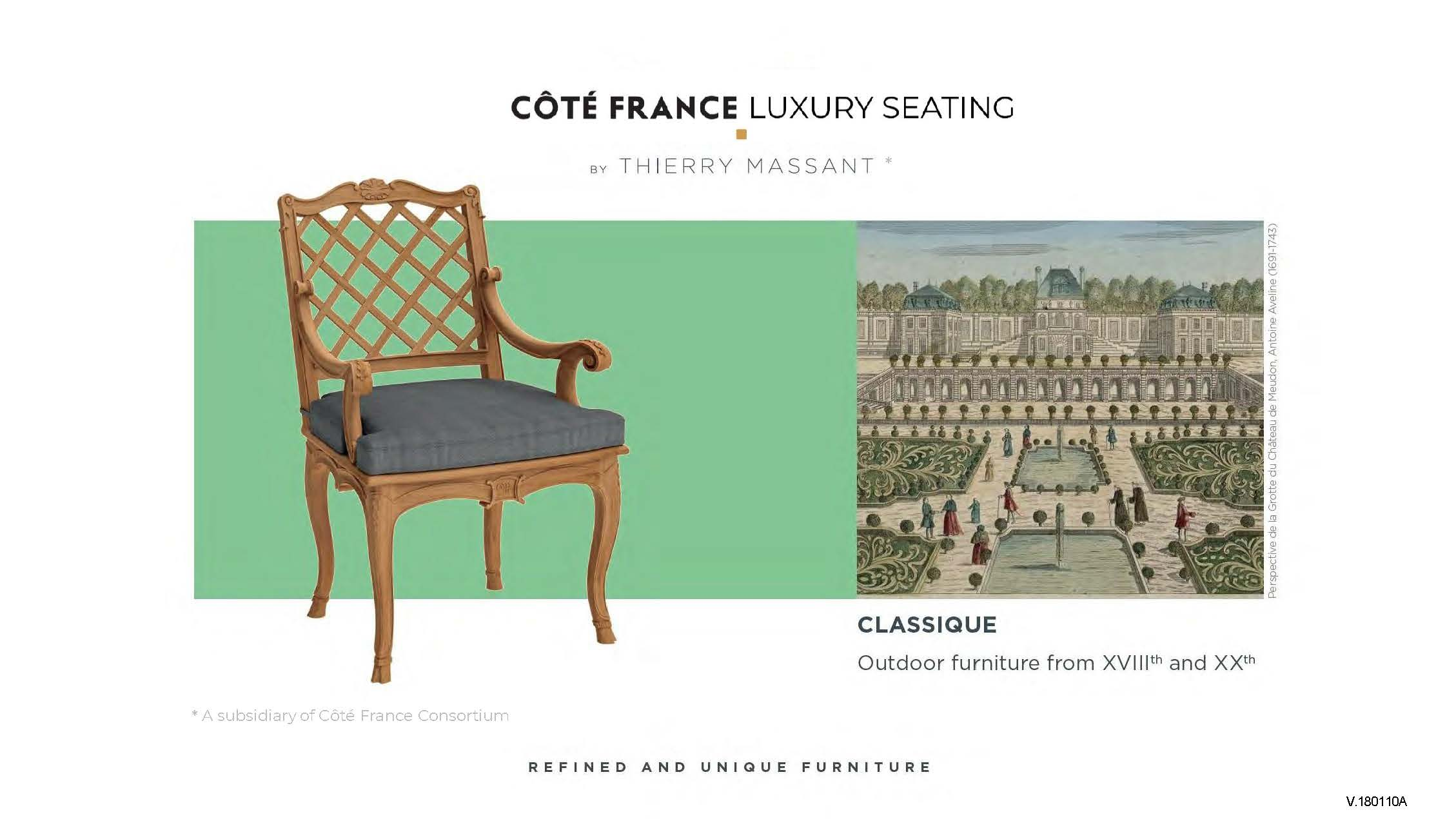 Cote France Catalog_Luxury Seating by Thierry Massant.pdf