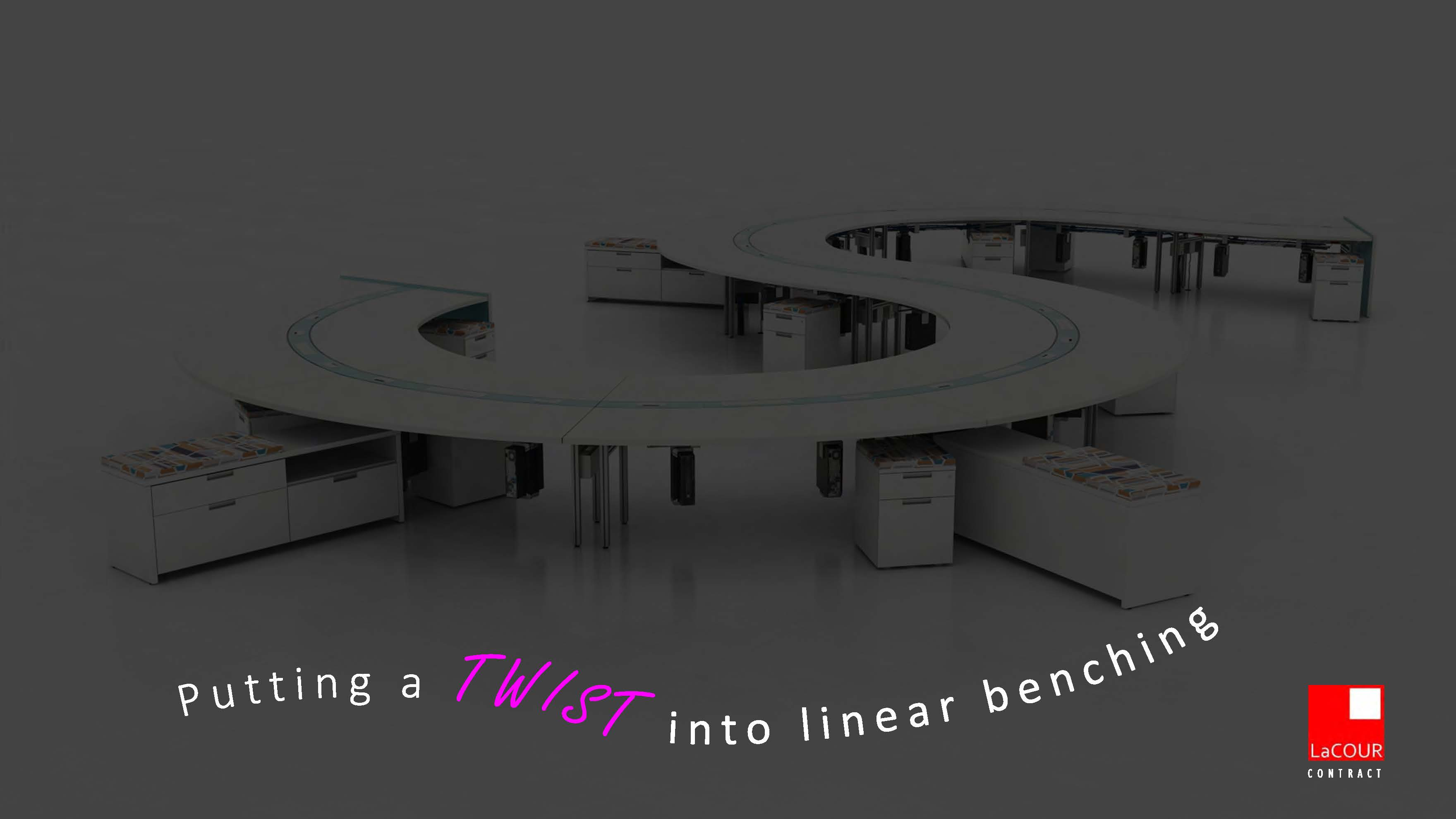 LaCOUR Catalog_Twist Bench Workstations Cover