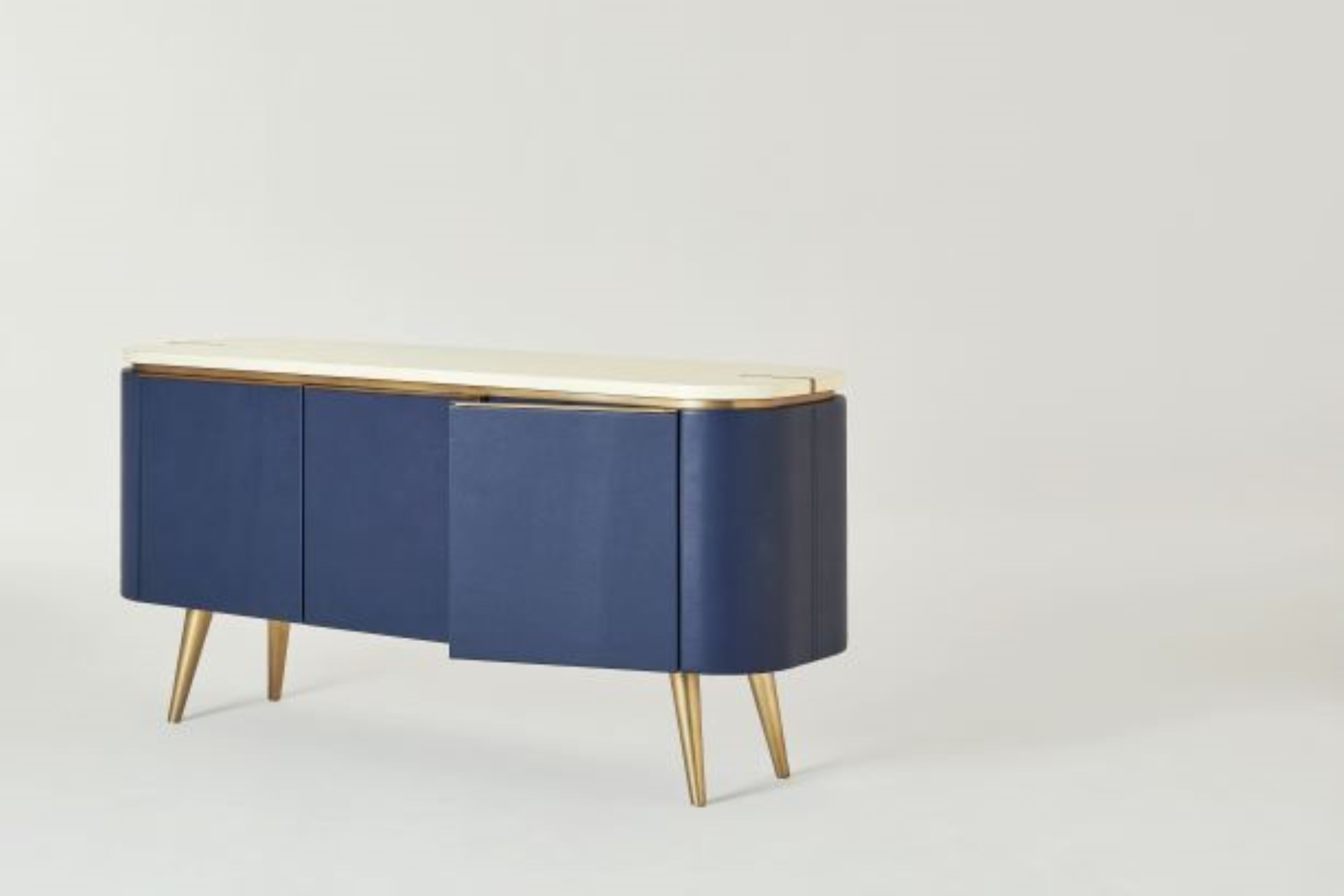 Profiles Image 19_Laurent-side- board-Credenza-by-The Antonia Collection-at-Profiles-New York-front-angle