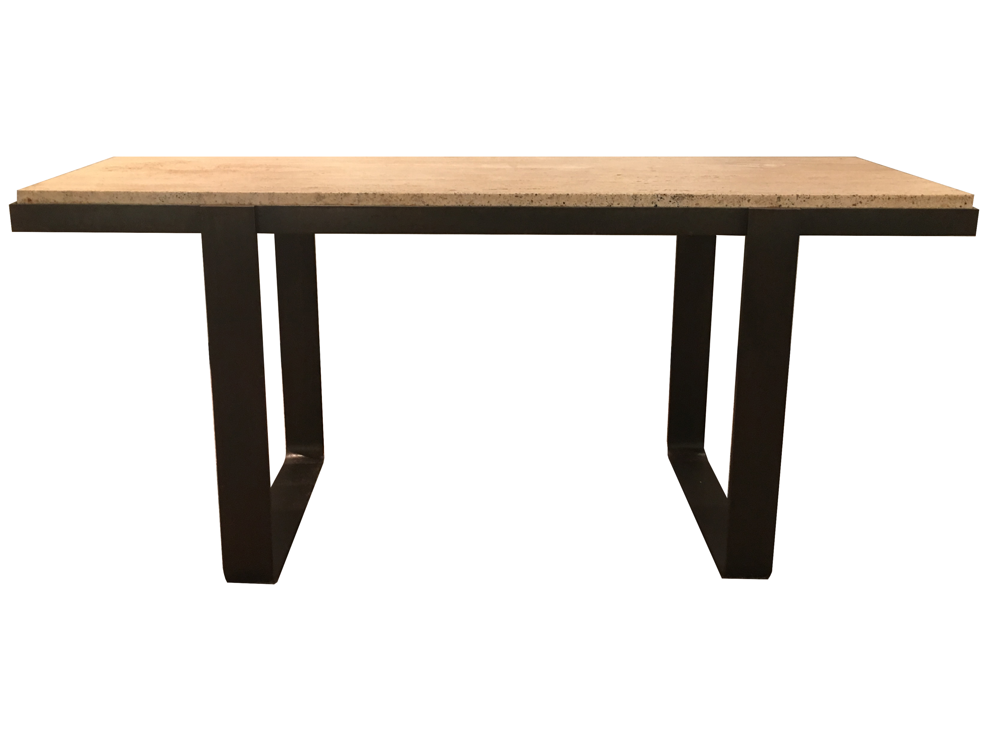 t brown Image 4_Iron Marble Console