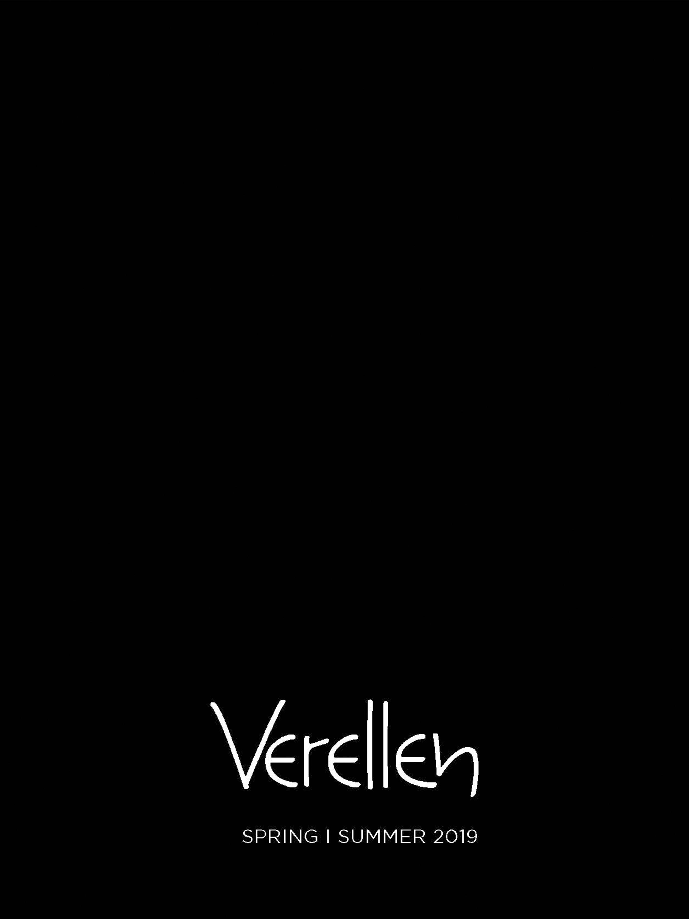 Verellen Catalog_Spring Summer 2019 Cover