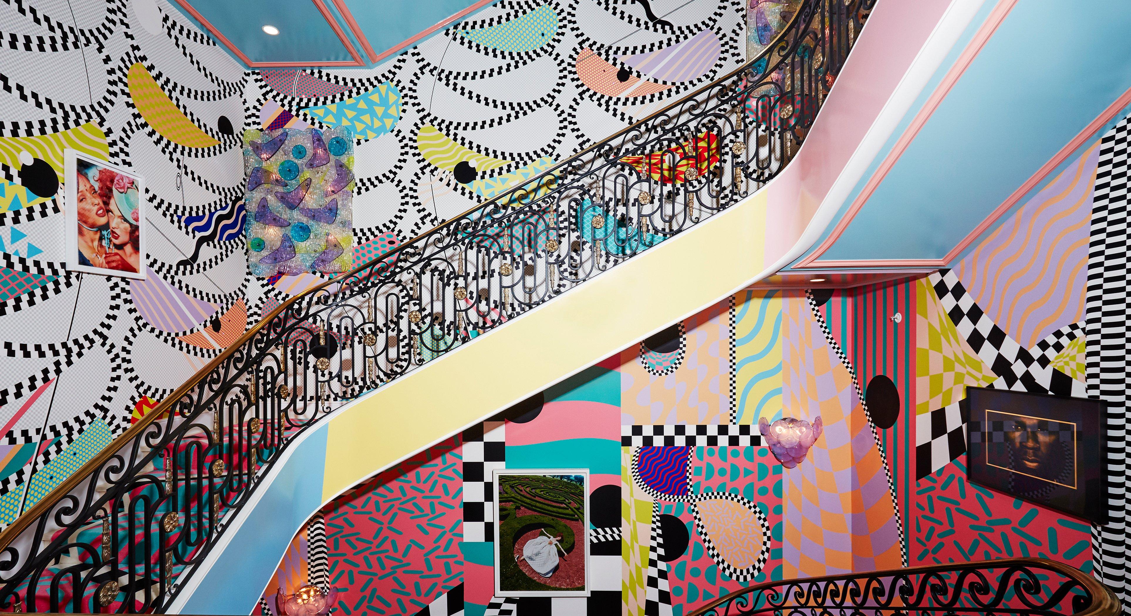 Voutsa Image 1_Stairway to Heaven Borderline Candy Ribbon Horizontal