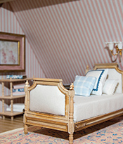 Dollhouse Beautiful_Bedroom designed by Caitlin Wilson Thumbnail