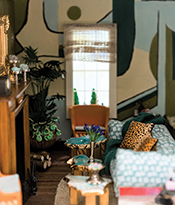 Dollhouse Beautiful_Living Room designed by Jenny Dina Kirschner Thumbnail