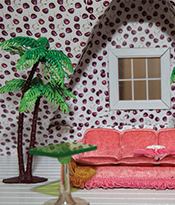 Dollhouse Beautiful_Lounge Designed by Sasha Bikoff Thumbnail