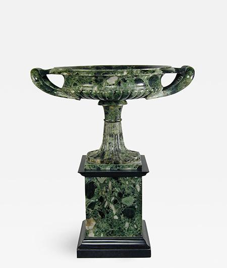 Grand Tour Verde antico Marble Tazza_Intro