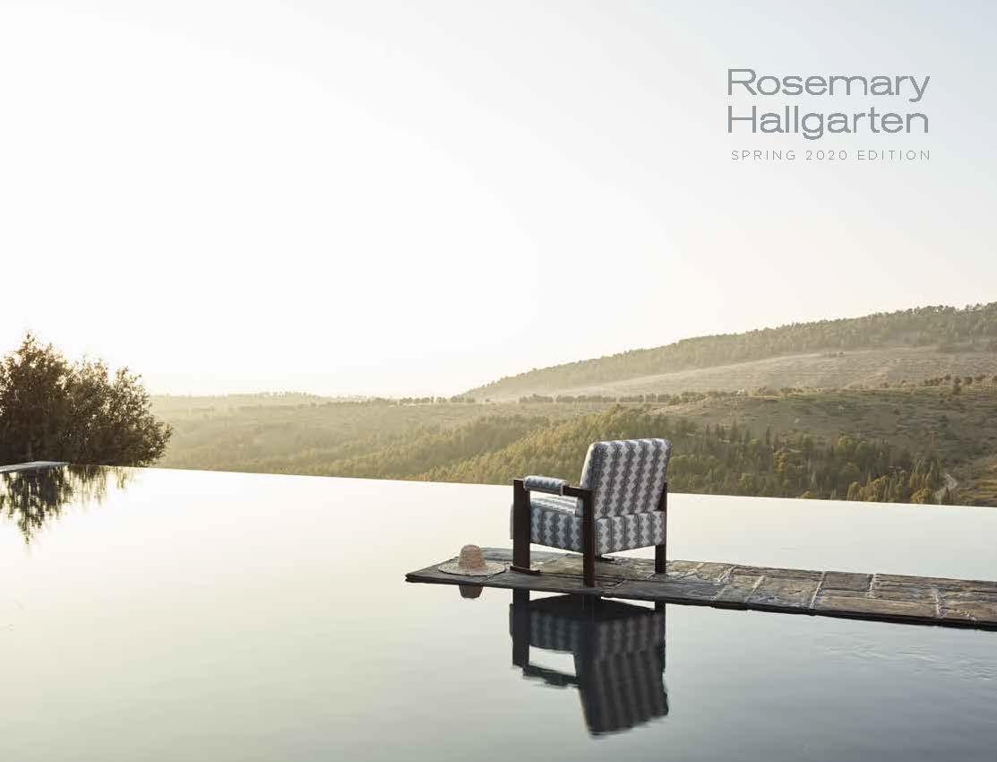 Rosemary Hallgarten Catalog_Spring 2020 Look Book Cover