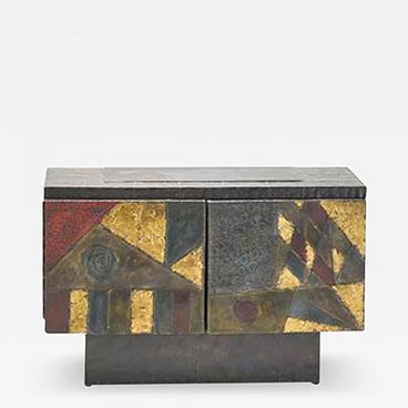 Milord Antiques 14_Paul Evans Fine patch welded steel cabinet