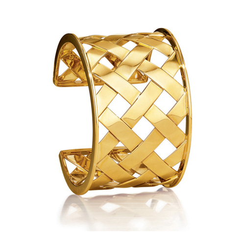 Verdura-Jewelry-Criss-Cross-Cuff-Yellow-Gold