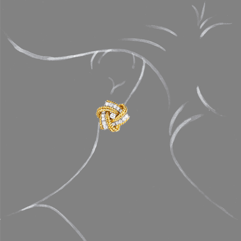 Verdura-Jewelry-Pinwheel Earclips-Scale-Rendering