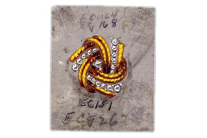 Verdura-Jewelry-Pinwheel-Earclips-Sketch-Landscape