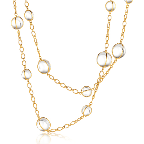 Verdura-Jewelry-Bubbles-Necklace-Gold-Rock-Crystal