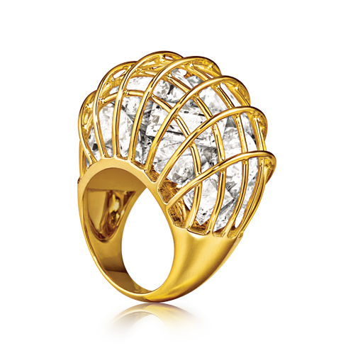 Verdura-Jewelry-Caged-Ring-Gold-Rock-Crystal