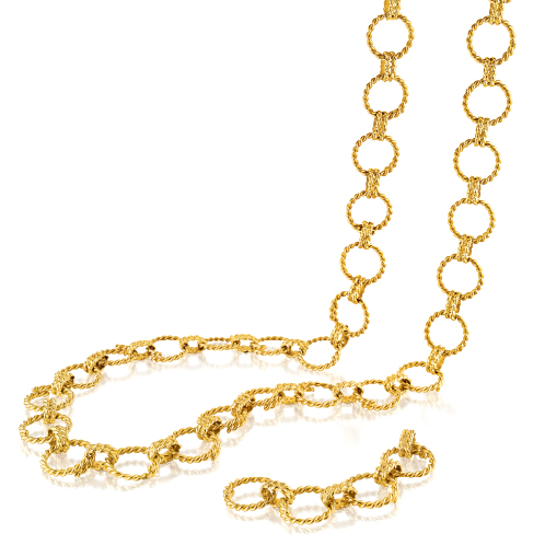 Verdura-Jewelry-Circle-Rope-Link-Necklace-Gold