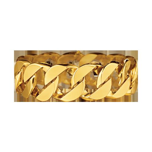Verdura-Jewelry-Curb-Link-Bracelet-Gold-Silo