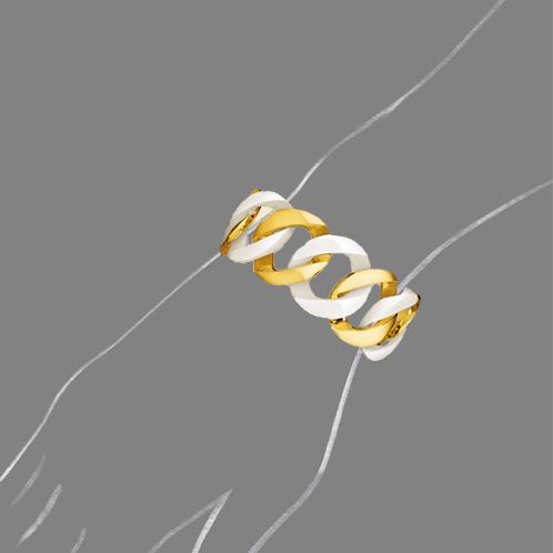 Verdura-Jewelry-Curb-Link-Bracelet-White-Ceramic-Scale-Rendering