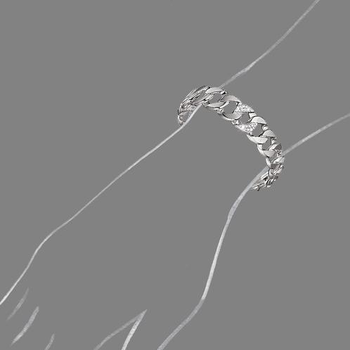 Verdura-Jewelry-Curb-Link-Cuff-White-Gold-Diamond-Scale-Rendering