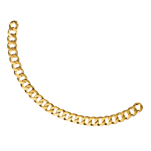 Verdura-Jewelry-Curb-Link-Necklace-Gold
