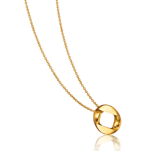 Verdura-Jewelry-Curb-Link-Pendant-Necklace-Gold