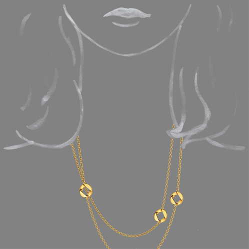 Verdura-Jewelry-Curb-Link-Station-Necklace-Gold-Scale-Rendering