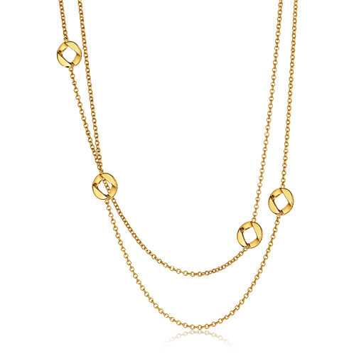 Verdura-Jewelry-Curb-Link-Station-Necklace-Gold