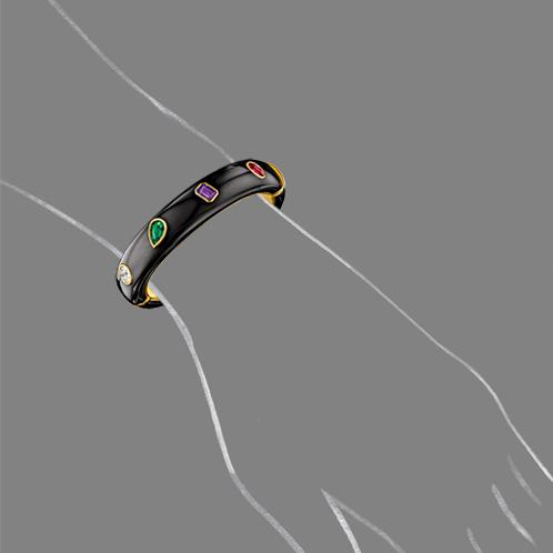 Verdura-Jewelry-DEAR-Bracelet-Scale-Rendering