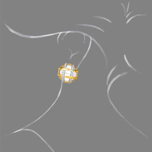 Verdura-Jewelry-Duchess-Earclips-Pearl-Scale-Rendering