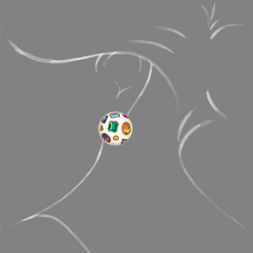 Verdura-Jewelry-Fulco-Earclips-White-Enamel-Scale-Rendering