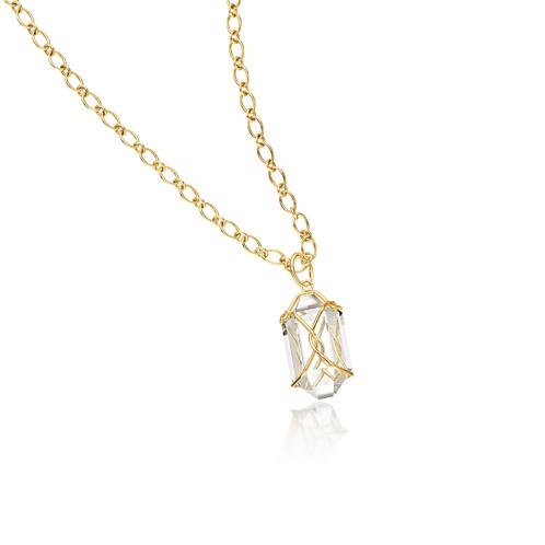 Verdura-Jewelry-Herkimer-Pendant-Necklace-Gold-Rock-Crystal
