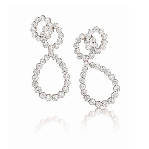 Verdura-Jewelry-Looped-Earclips-Platinum-Diamond