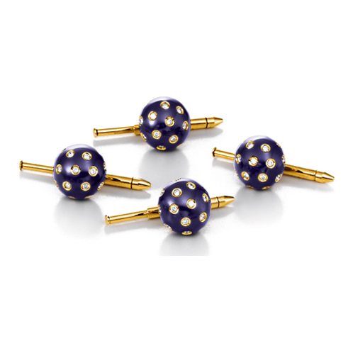 Verdura-Jewelry-Night-and-Day-Studs-Gold-Diamond-Enamel