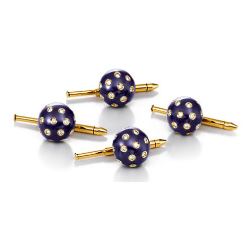 Verdura-Jewelry-Night-and-Day-Studs-Gold-Diamond-Enamel