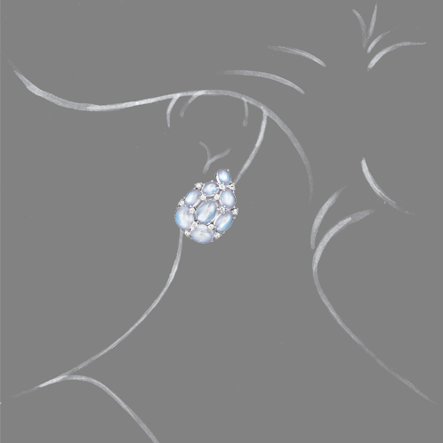Verdura-Jewelry-Paisley-Earclips-Moonstone-Scale-Rendering