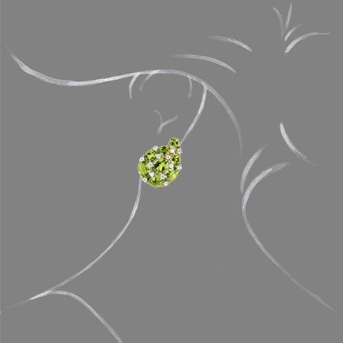 Verdura-Jewelry-Paisley-Earclips-Peridot-Scale-Rendering