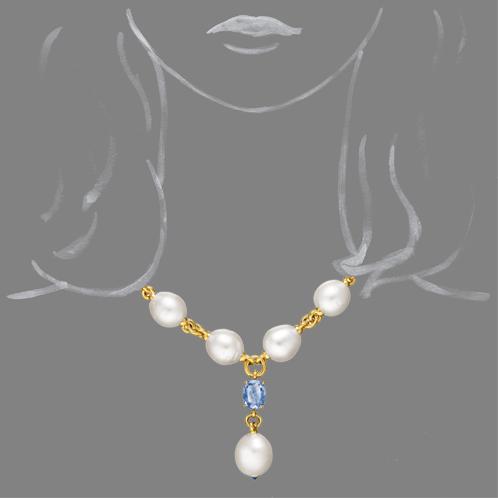 Verdura-Jewelry-Pearl-Y-Necklace-Scale-Rendering