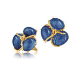 Verdura-Jewelry-Rope-Cluster-Earclips-Sapphire-Gold-150x150