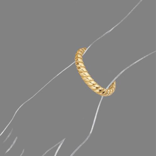 Verdura-Jewelry-Torsade-Bangle-Scale-Rendering