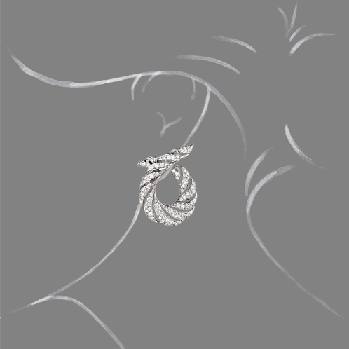 Verdura-Jewelry-Twisted-Horn-Earclips-Diamond-Scale-Rendering