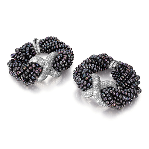Verdura-Jewelry-Vintage-X-Bracelets-Pearl-Diamond