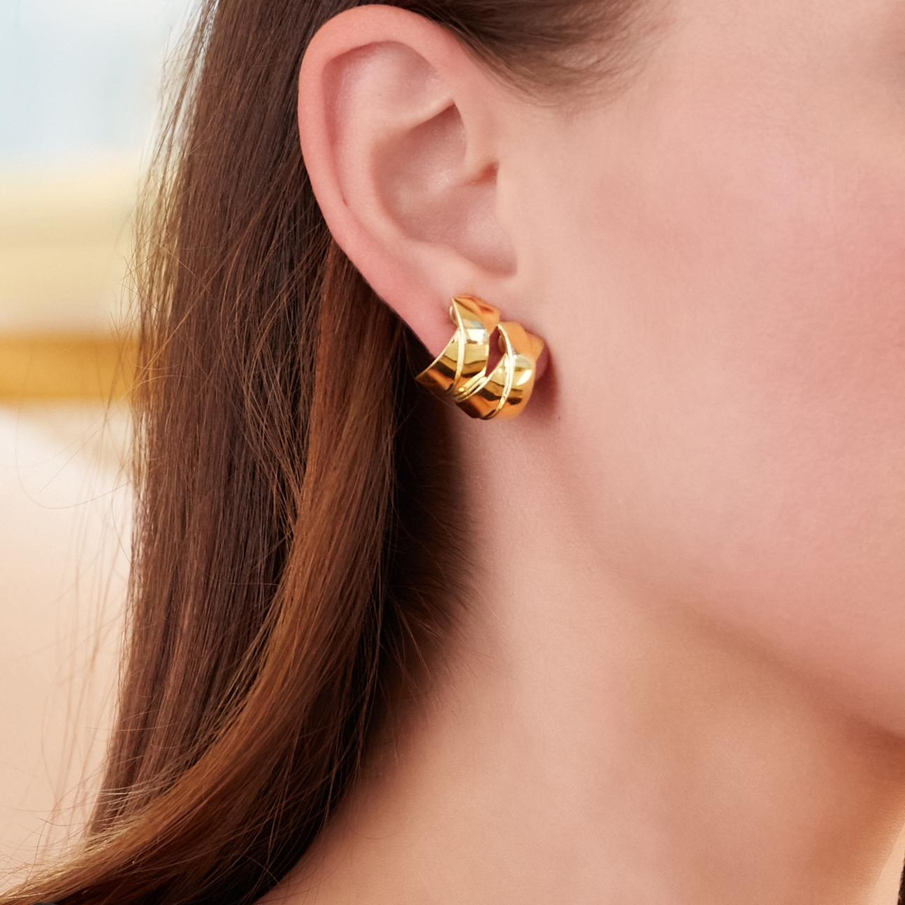 double x earclips