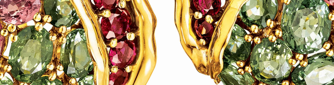 VerduraJ-Jewelry-Pomegranate-Earclips