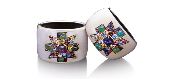 Verdura-Jewelry-Coco-Chanel-Cuffs-Maltese-Cross