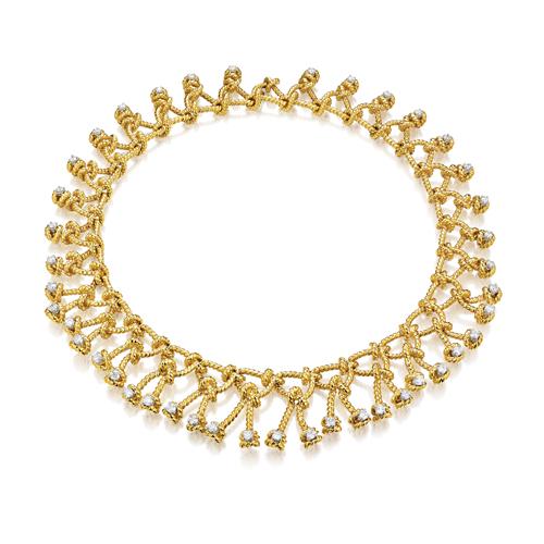 Verdura-Jewelry-Regatta-Necklace-diamond-gold