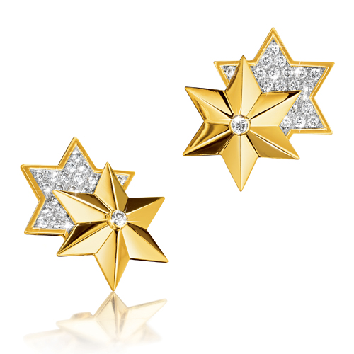 Verdura-Jewelry-Star-Earclips-Diamond-Gold-2018