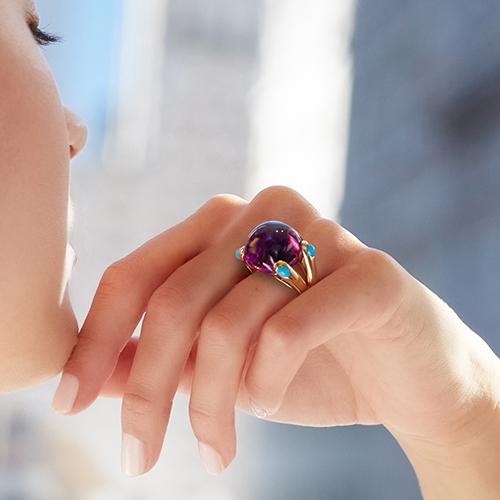 Candy Ring Amethyst