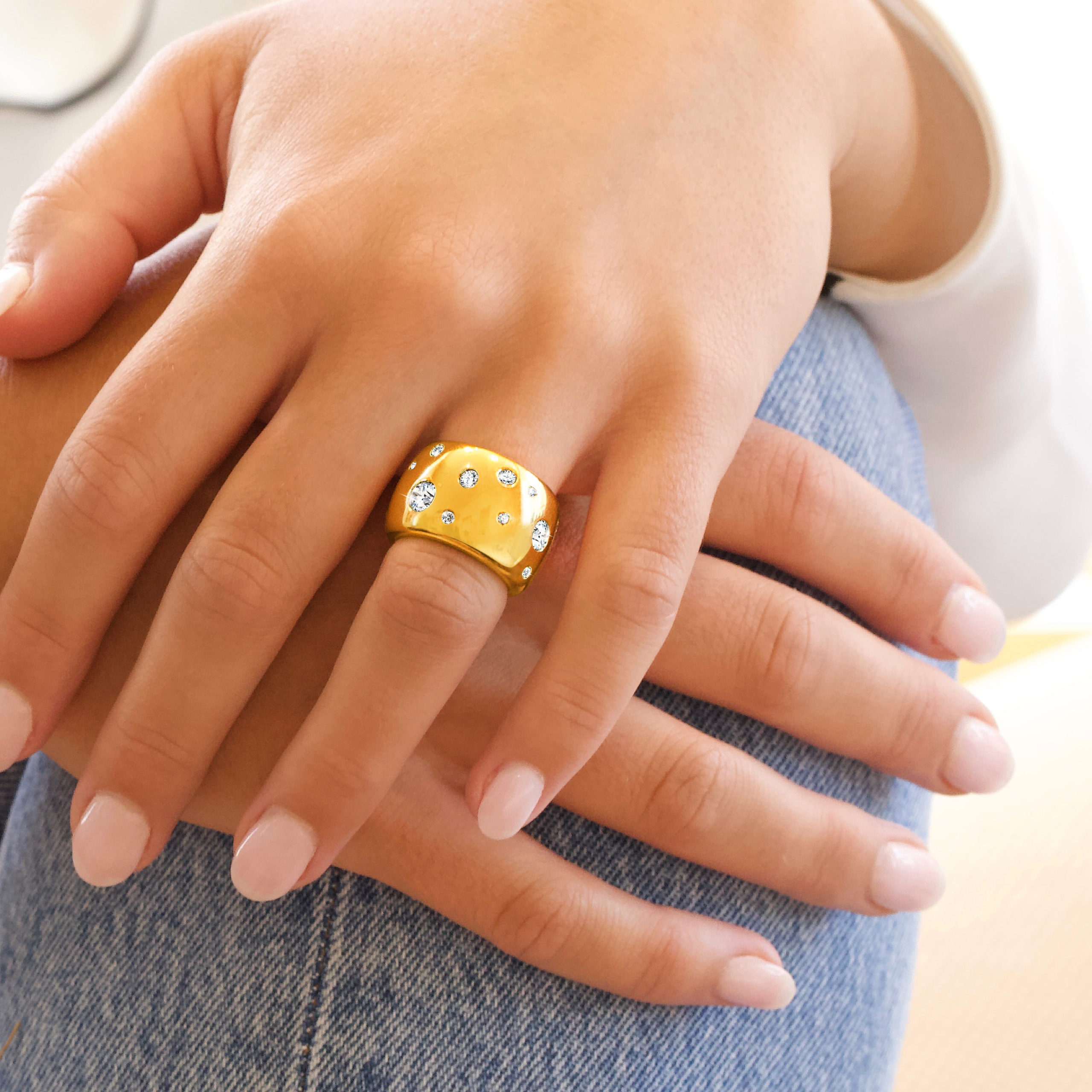 Constellation Band Ring