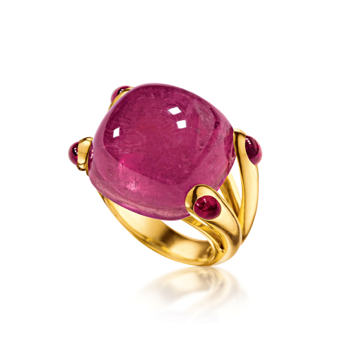 Verdura-Jewelry-Candy-Ring-Rubellite-Tourmaline