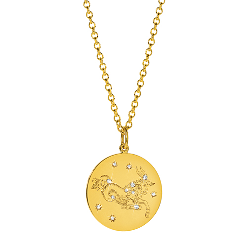 Verdura-Jewelry-Zodiac-Pendant-Necklace-Capricorn-Gold-Diamond