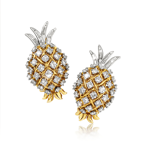Pineapple Earclips_Gold-Diamond_PoS_15_web_1